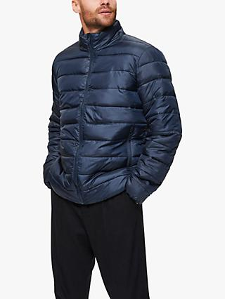 SELECTED HOMME Change Quilted Puffer Jacket, Dark Sapphire