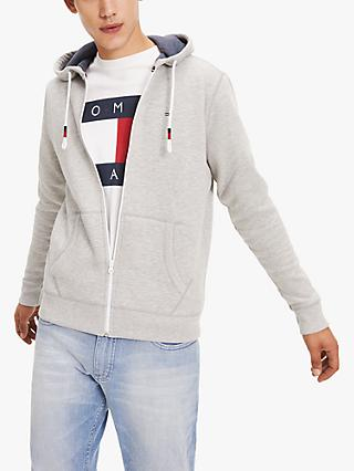 Tommy Jeans Flag Logo Zip Through Hoodie