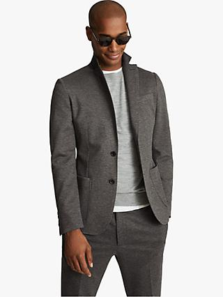 Reiss Slim Fit Flexo Jersey Stretch Suit Jacket, Grey