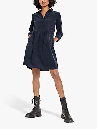 hush Becky Corduroy Dress, Midnight