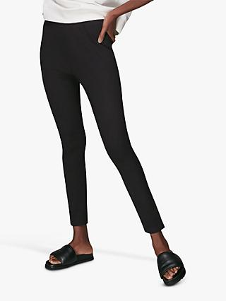 Whistles Slim Leggings, Black