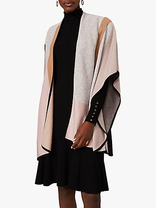 Phase Eight Nel Colour Block Cape, Multi