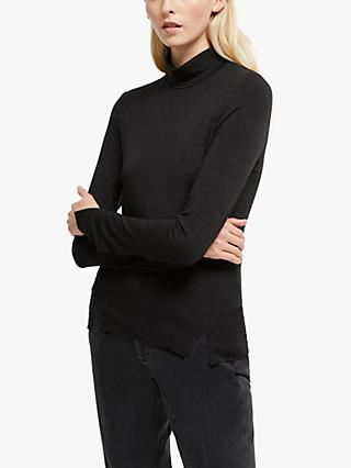 French Connection Venitia Roll Neck Jersey Top