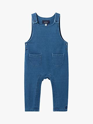 Baby Joule Maybridge Dungarees, Denim Blue
