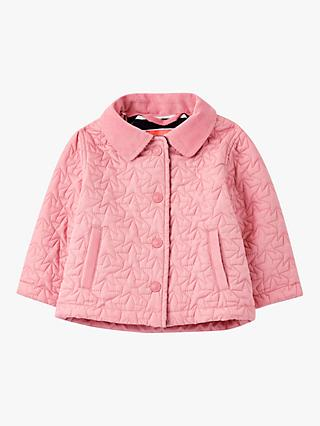 Baby Joule Mabel Quilted Jacket, Light Pink