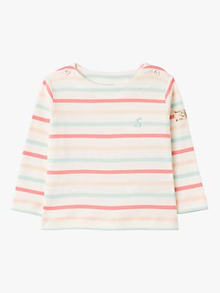 Baby Joule Harbour Stripe Top, Multi