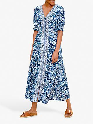 East Savannah Maxi Dress, Blue