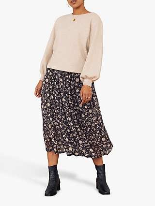 East Natalia Maxi Skirt, Black