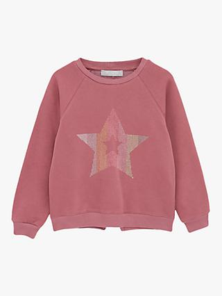 Mintie by Mint Velvet Star Stud Jumper, Pink