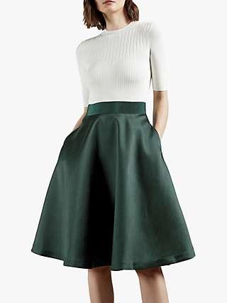 Ted Baker Betsiyy Midi Dress, Green