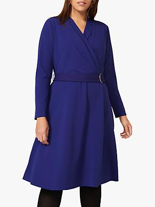 Studio 8 Susan Belted Midi Dress, Cobalt