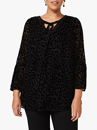 Studio 8 Fanella Top, Black
