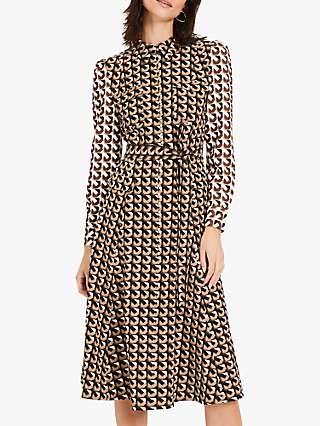 Damsel in a Dress Arlo Geometric Midi Dress, Multi