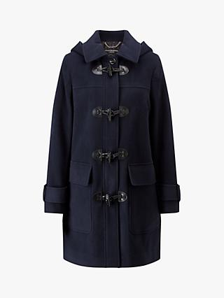 Four Seasons Duffle Coat, Navy