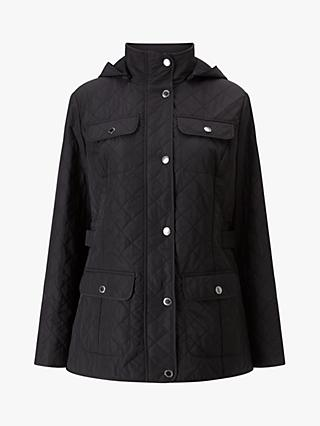 Four Season Quilted Jacket, Black