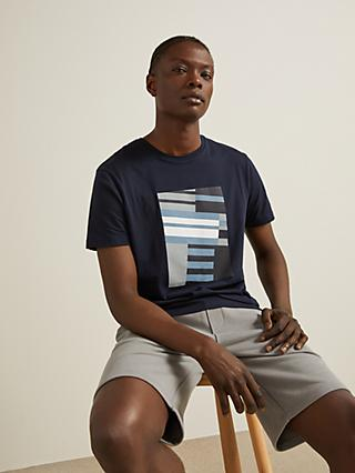 Kin Architect Graphic T-Shirt, Navy