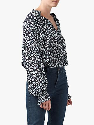 Lily and Lionel Florence Mini Leopard Print Blouse