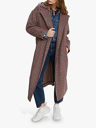 Levi's Long Wool-Blend Coat, Multi