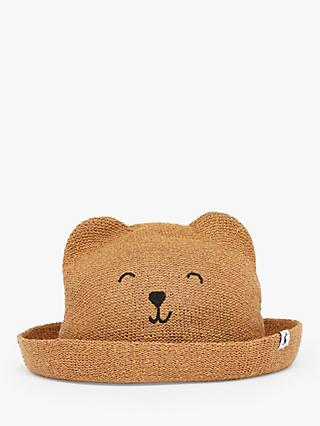 Little Joule Children's Ashton Straw Hat, Natural