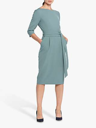 Helen McAlinden Obi Caroline Tie Waist Pencil Dress
