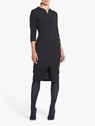 Helen McAlinden Emma Knee Length Dress, Dark Navy