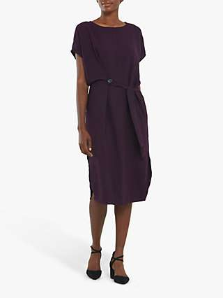 Helen McAlinden Phoebe Shift Dress, Mauve