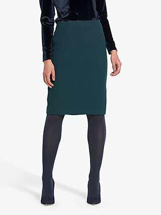 Helen McAlinden Beth Pencil Skirt, Teal
