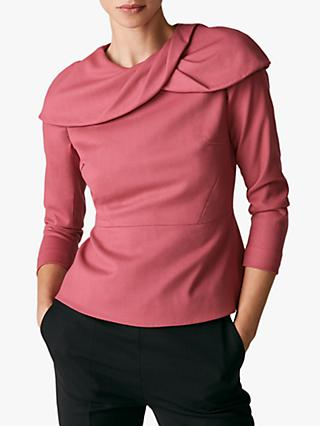 The Fold Annesley Top, Pink