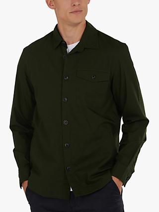 Barbour Durban Cotton Overshirt, Green