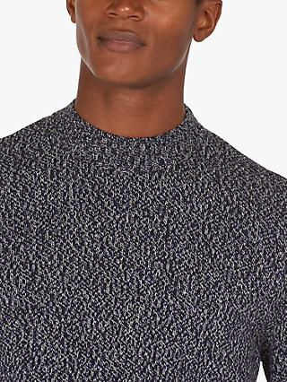 Barbour Sid Crew Neck Textured Jumper