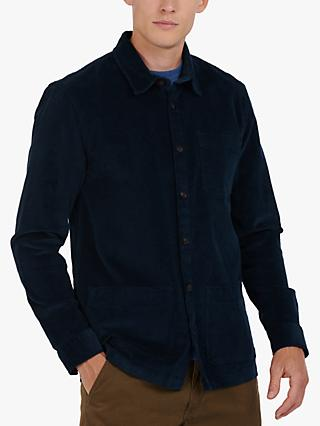 Barbour Cabin Overshirt, Navy