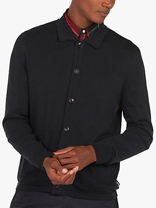 Barbour Gilroy Button Down Cardigan, Navy