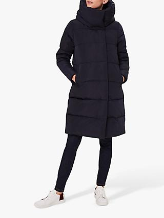 Hobbs Heather Puffer Jacket, Navy