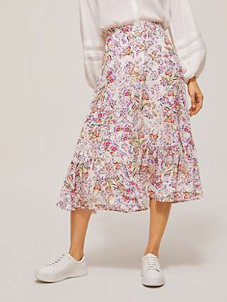 Somerset by Alice Temperley Agatha Floral Skirt, Multi