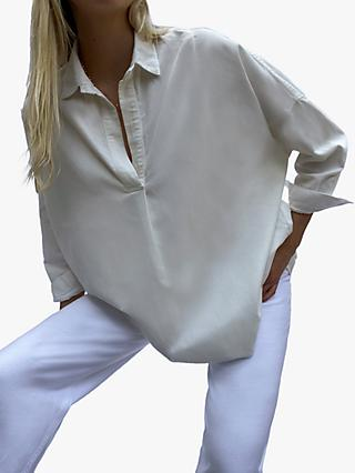 French Connection Viro Pop Over Relaxed Shirt