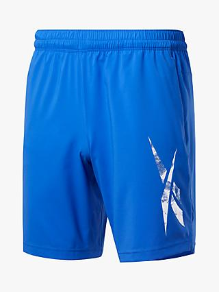 Reebok Workout Ready Graphic Gym Shorts, Court Blue