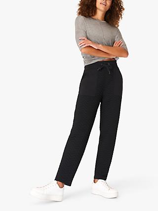 Sweaty Betty Ramble Quilted Trousers, Black