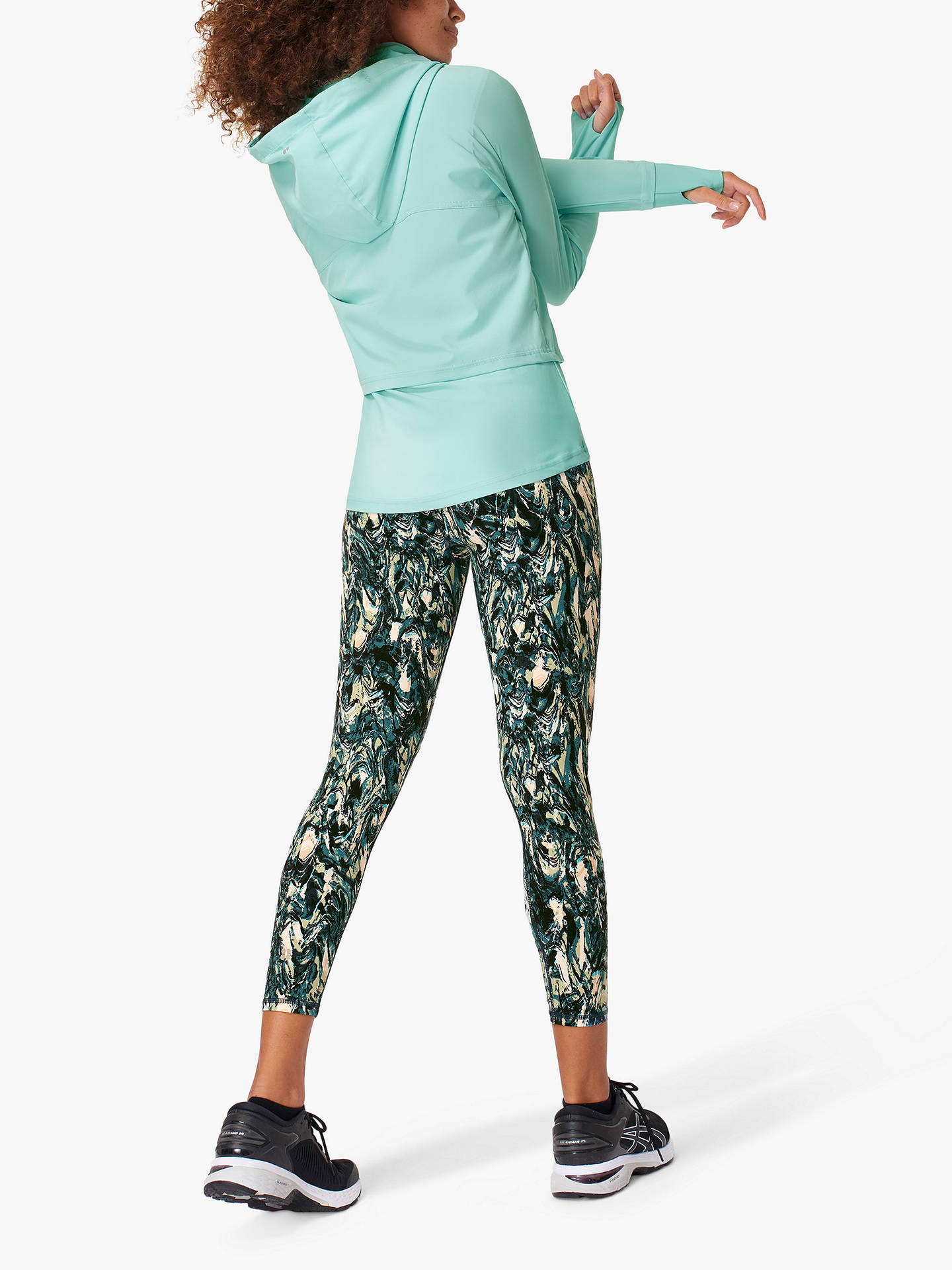 Buy Sweaty Betty Fast Track Running Jacket, Blue Lagoon, XXL Online at johnlewis.com