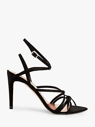Ted Baker Relana Strappy Stiletto Heel Sandals, Black
