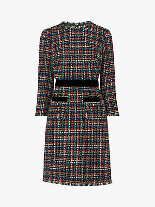 L.K.Bennett Lucy Tweed Dress, Multi