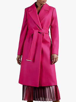 Ted Baker Lockley Coat, Pink