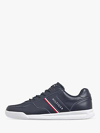 Tommy Hilfiger Lightweight Leather Trainers, Desert Sky