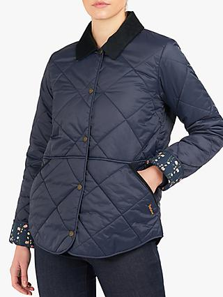 Barbour Kyloe Quilted Print Lined Jacket