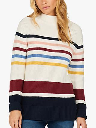 Barbour Saltburn Striped Knitted Jumper, Multi