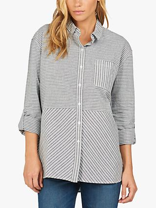 Barbour Longshore Stripe Shirt, Blue