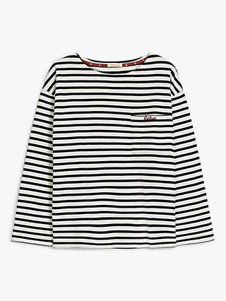 Barbour Shoreward Stripe Top, Natural