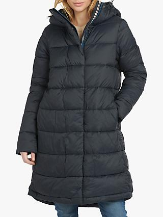 Barbour Kelp Quilted Hooded Jacket, Navy