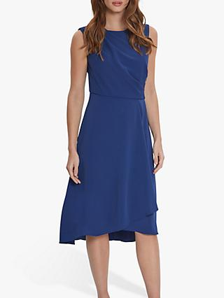 Gina Bacconi Avalina Wrap Dress, Navy
