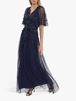 Gina Bacconi Rachel Embellished Maxi Dress