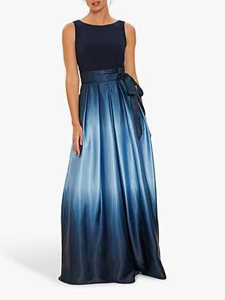 Gina Bacconi Indie Maxi Dress, Navy